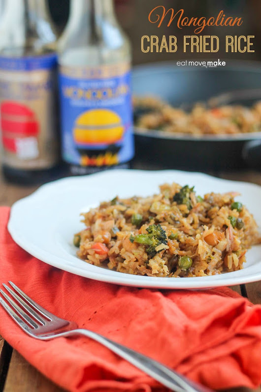 Mongolian Crab Fried Rice - Best Fried Rice Recipe Ever