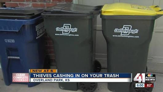 Overland Park police: thieves can use your trash to steal your identity