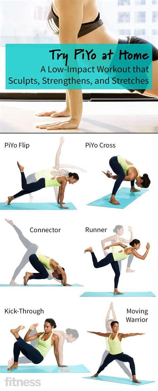 gym entrainement  piyo  home   impact