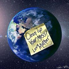 Clean up your mess 240x239 2014 Een nieuw begin:  Astrologisch jaarartikel van Manuela van der Knaap