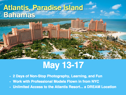 SAVE $250 & Get a FREE 2-Day Photo Workshop in the Bahamas!!