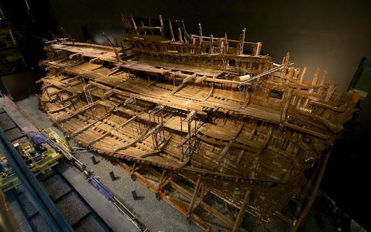 Pelloby Transporters used in Mary Rose Conservation