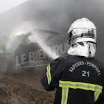 Salmaise | Salmaise : l'incendie est toujours sous surveillance
