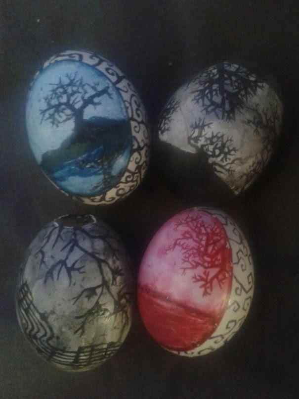 Landscape Eggs