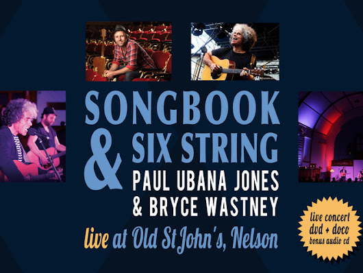 Songbook & Six String - Live Concert & Documentary DVD/CD