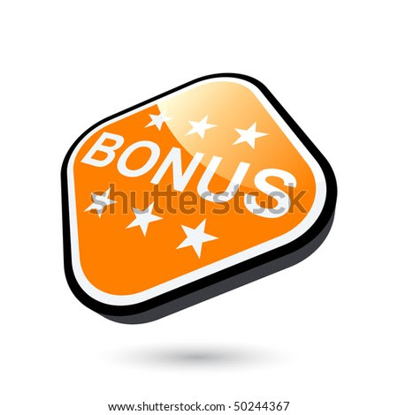 stock vector : modern bonus sign