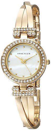 Anne Klein Women's AK/1868GBST Swarovski Crystal Accented