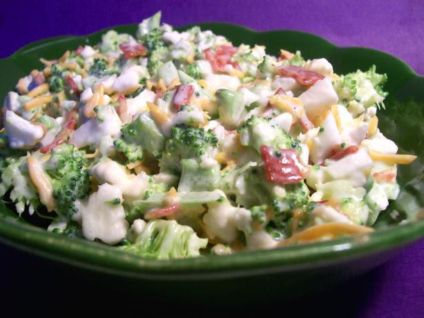 Broccoli-Cauliflower Salad. Photo by Sharon123