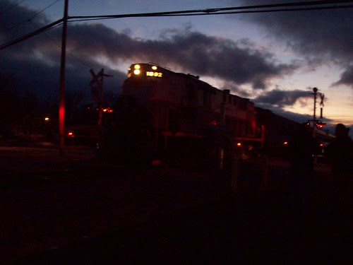 Medina Railroad at Dusk I