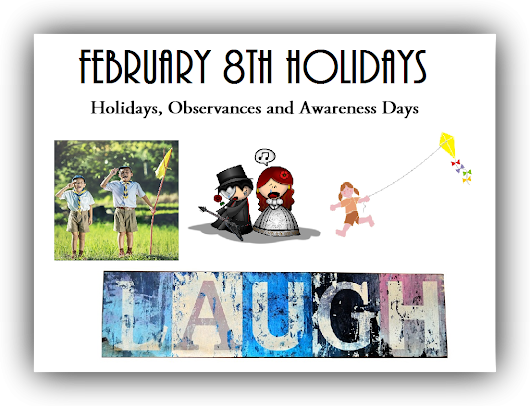 February 8th Holidays | Time for the Holidays