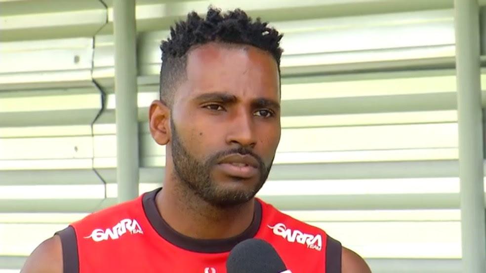 Volante Reinaldo diz que Globo FC quer garantir classificação com mais uma vitória (Foto: Reprodução)
