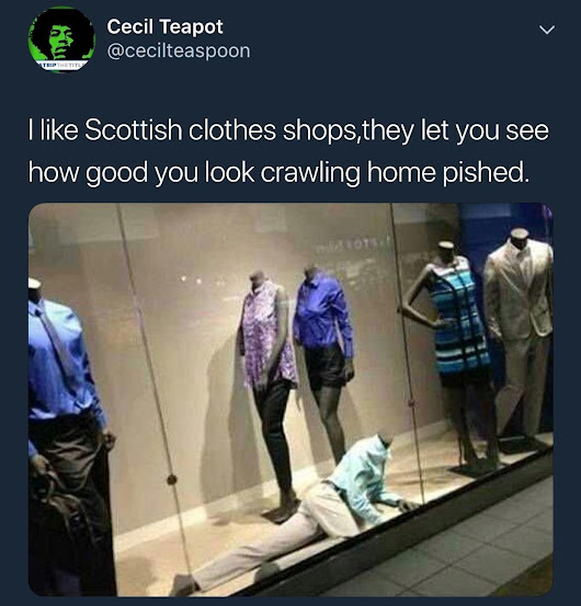 r/ScottishPeopleTwitter - Scottish clothes shops
