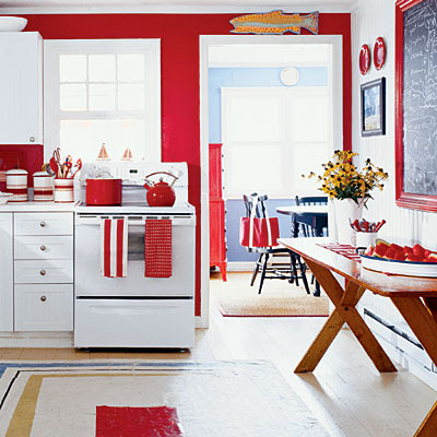 red white and blue living rooms   Apartments i Like blog