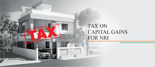 Tax on capital gains For non-resident of India (NRI)