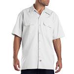 Dickies Short Sleeve Work Shirt - White