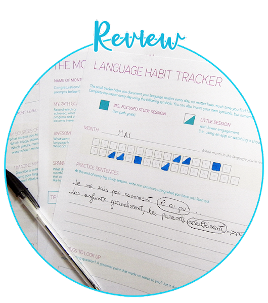 How I created my ideal language learning routine with the Language Habit Toolkit
