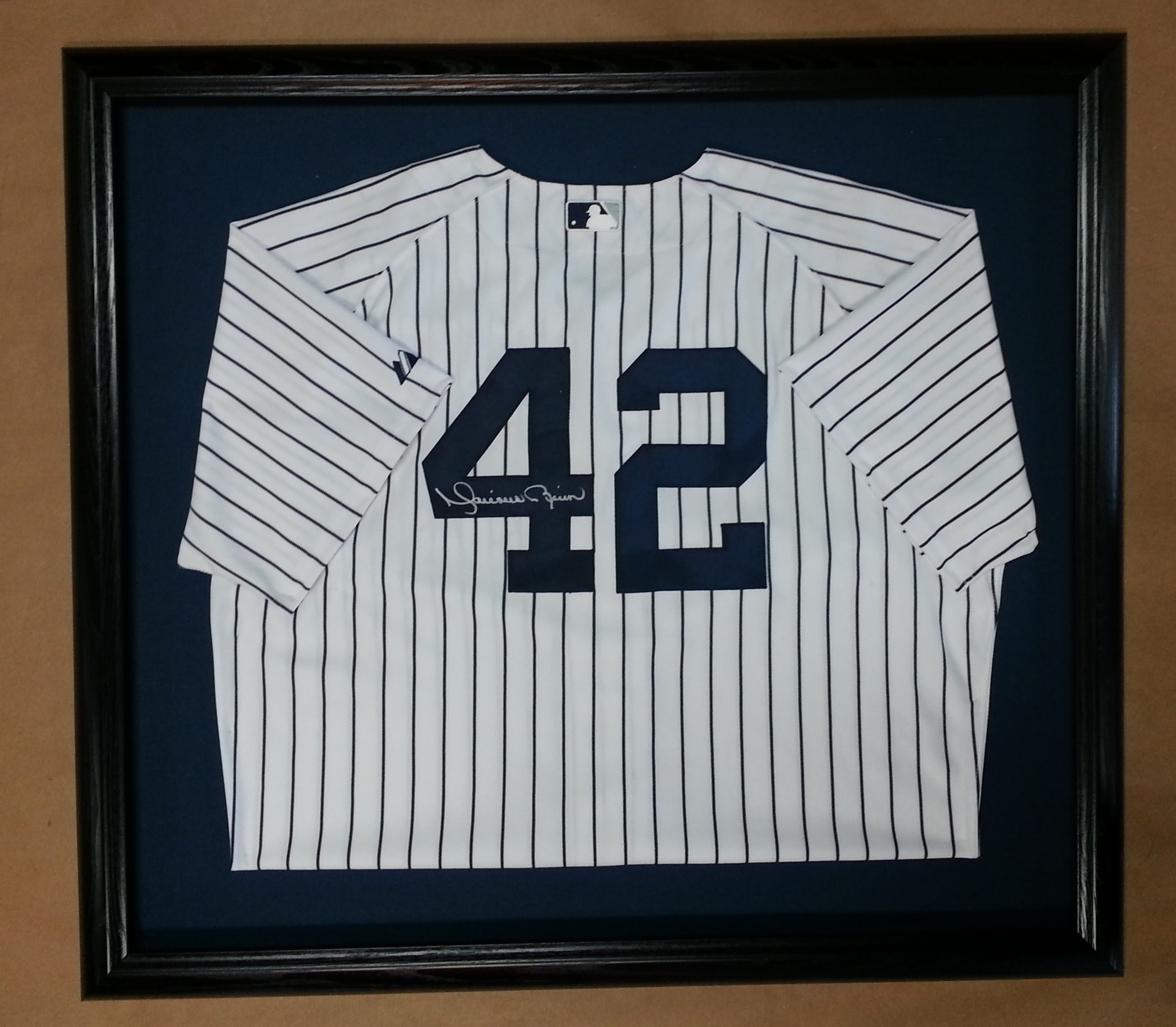 Framed Baseball Jersey Columbia Frame Shop