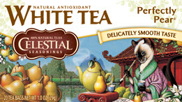Celestial Seasonings White Tea Perfectly Pear