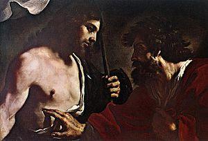 Guercino - Doubting Thomas - WGA10951