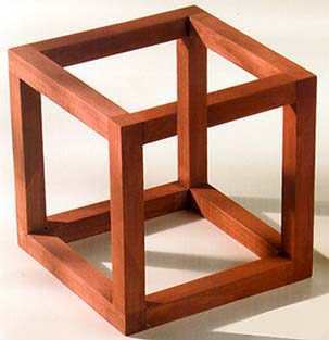 box illusions impossible optical crate cube