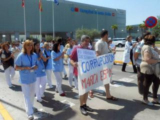 Los profesionales sanitarios del Hospital de Sanse afirman que hay que continuar protegiendo la sanidad pública