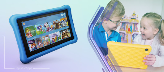 Amazon Fire HD 8 Kids Edition Tablet - Top Best Apps