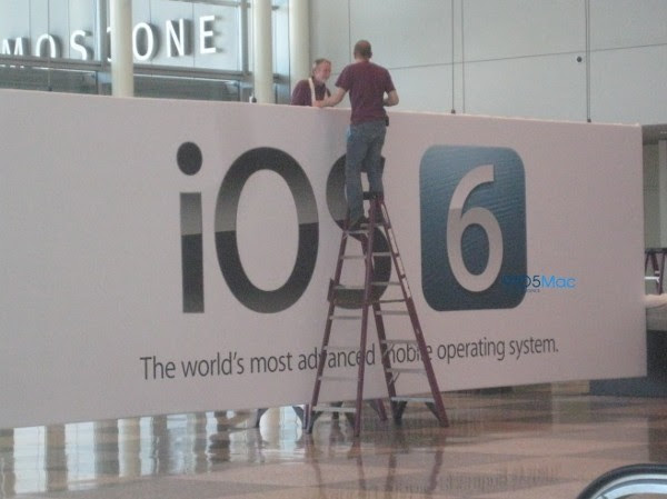 WWDC banner shot betrays iOS 6 debut