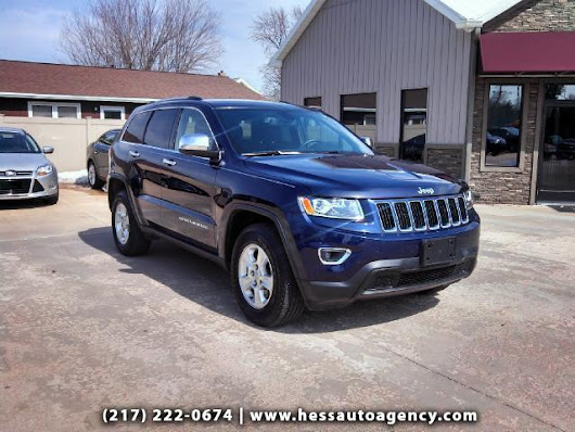 Used 2014 Jeep Grand Cherokee for Sale in Quincy IL 62301 Hess Auto Agency