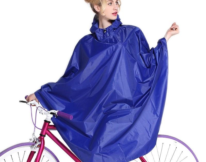 Regenjacke mit Kapuze Wandern Radfahren Regen Abdeckung Poncho Regenmantel