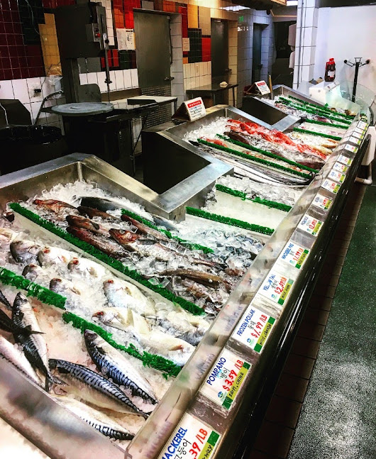 How to buy fish at the fish counter