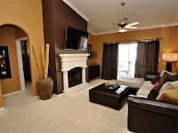 Warm Color Living Room Ideas