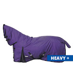 Tough-1 1200D Waterproof Poly Full Neck Turnout Blanket 72 Inch, Purple