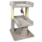 New Cat Condos 110215 Large Cat Play Perch, Large, Neutral