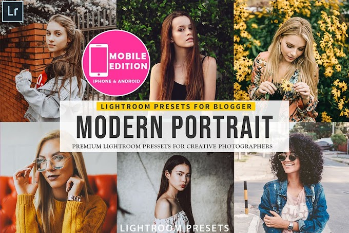 Modern Portait Lightroom Presets