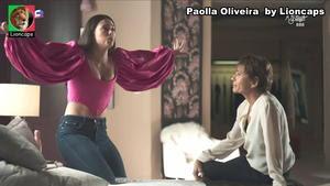 Paolla Oliveira sensual na novela A Dona do Pedaço