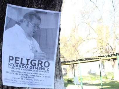 El sacerdota Ricardo Giménez, acusado de abuso Foto: Web