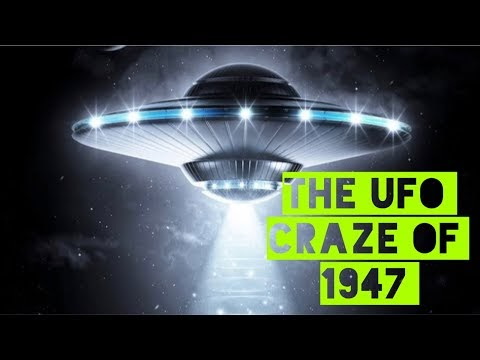 The UFO craze of 1947 : the birth of fakenews or the conspiracy theorist