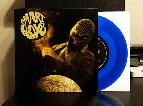 "Smartboys - A Different World Now 7"" - Blue Vinyl by Tim PopKid"