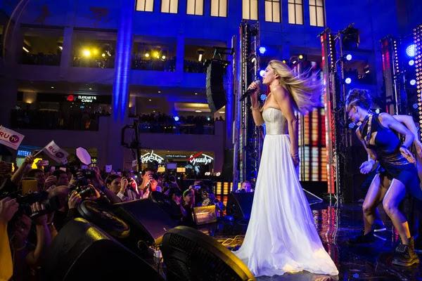 Cantante de Vera Brezhneva — Foto de Stock #60367537
