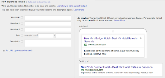 Google Adwords Character Limits for Expanded Ads & Best Practices