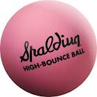 Spalding Spaldeen High Bounce Ball, Pink