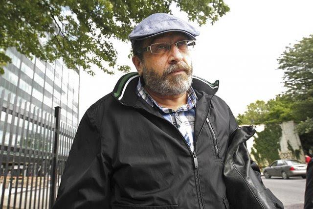 Saulie Zajdel a été arrêté lundi matin.... (Photo: Patrick Sanfaçon, La Presse)