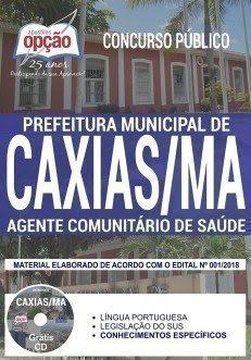 Apostila Concurso Prefeitura de Caxias 2018 | AGENTE COMUNITÁRIO DE SAÚDE