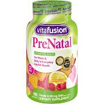Vitafusion PreNatal Multivitamin Dietary Supplement Gummies - Lemon & Raspberry Lemonade - 90ct