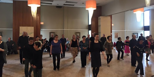 Ballroom/latin dance lessons & party every Sunday 2-5pm at DVP and Eglinton