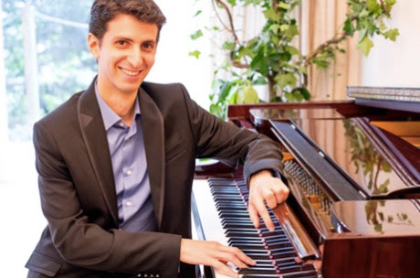 Review of Ishay Shaer Lunchtime Piano Concert at St George's Bristol