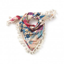 Tea Collection Patchwork Kantha Scarf