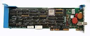 Deutsch: Netzwerkkarte IBM 83X9648 (Micro Chan...