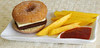 Sweet Burger and Fries by Indira  Entry I