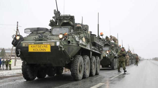 Amerykańska kawaleria ruszyła z Estonii. Przejedzie przez Polskę